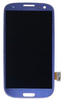 XiaoZhu Ersatzteile für Samsung Galaxy S3 / i9300 / i9305 LCD Display Touchscreen Bildschirm Digitizer Glas Komplett Rahmen Assembly Blau