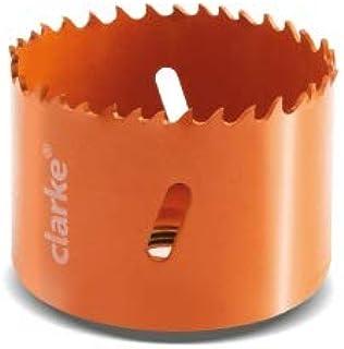CLARKE Bi-Metal Hole Saw with Box Packing, Orange - 73mm