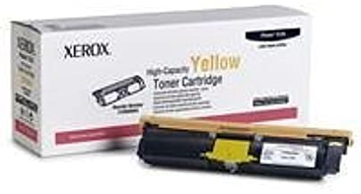 Genuine Xerox Yellow High Capacity Toner Cartridge for the Phaser 6120/6115MFP, 113R00694