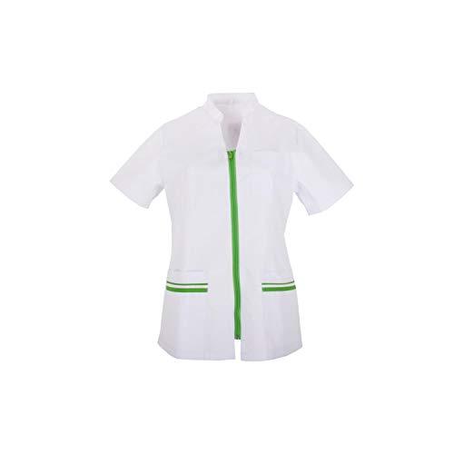 MISEMIYA - Arbeitskleidung Frau Kurze ÄRMEL UNIFORM KLINIK Krankenhaus Reinigung TIERARZT Gesundheit GASTGEWERBE - Ref.702 - XX-Large, Apple Green