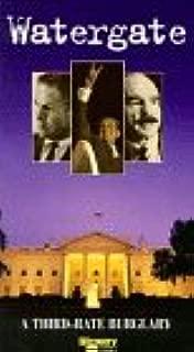 Watergate:Third Rate Burglary VHS