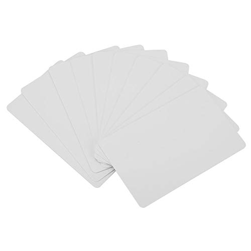 NFC Smart White-Karte, 10 Stück NFC Contactless Smart White-Karte 13,56 MHz RFID Readable Writable Access Card