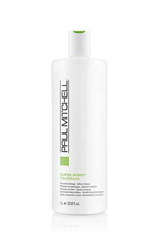 Paul Mitchell Super Skinny Conditioner - glättende Haar-Spülung für widerspenstige Haare, pflegender Conditioner für mehr Geschmeidigkeit, 1000 ml