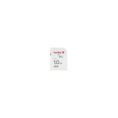 SanDisk Memory Card 1GB - For Nintendo Wii