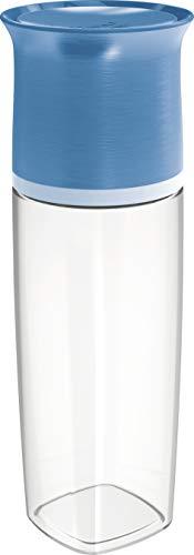 Maped PICNIK Adulte Bouteille d'Eau 500 ml Anti-Gouttes et Verre Capuchon - Compatible Lave-Vaisselle - Plastique Tritan Sans BPA - Bleu
