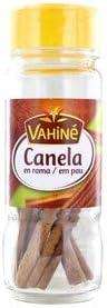 VAHINÉ - Especias Cocina - Canela Ramas - Para Mezcla de Vino Caliente, Cuscús, Cremas y Compotas - 10g