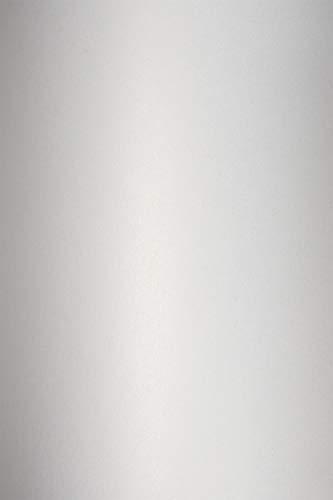 10 Blatt Perlmutt-Weiß 120g Papier DIN A4 210x297 mm, Cocktail Gin Fiz, ideal für Hochzeit, Geburtstag, Weihnachten, Einladungen, Diplome, Kunst und Handwerk
