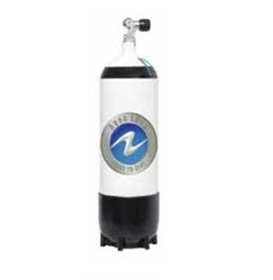 Aqua Lung 15 L de acero - 1 salida Z-válvula Mono 230 bares - 13150