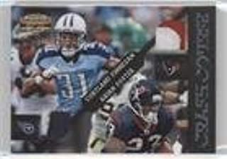 Arian Foster; Cortland Finnegan #12/25 (Football Card) 2011 Panini Gridiron Gear - Crash Course - Jerseys Prime [Memorabilia] #3
