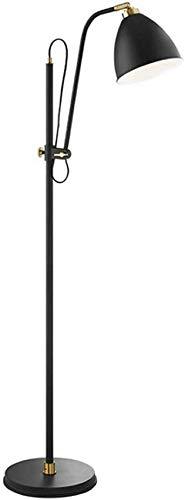 GLXLSBZ Lámpara de pie de Hierro para iluminación de Sala de Estar - Lámpara Decorativa de pie para Dormitorio y guardería - Mediados de Siglo, luz de Poste Alto Que sobresale de Lectura