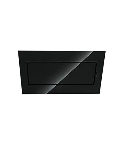 Falmec Dunstabzugshaube Design Quasar Wandhaube 80 cm Glas Schwarz