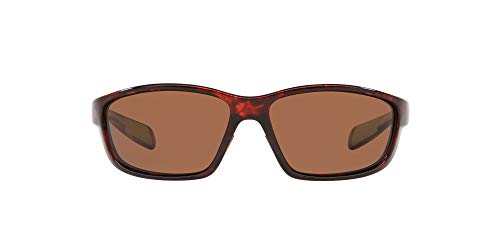 Native Eyewear unisex adult Kodiak Sunglasses, Maple Tortoise/Brown, 60 mm US