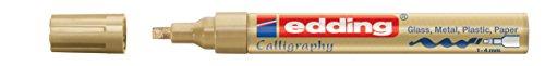 Edding e-755 - Rotulador permanente para vidrio, metal, plá