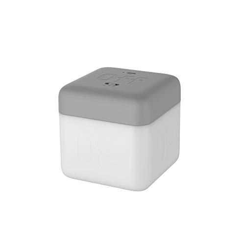 XJF Cubo lámpara de mesa simple Flip Timing Night Light con 5/15/30/60 minutos Led ahorro de energía luz de dormir
