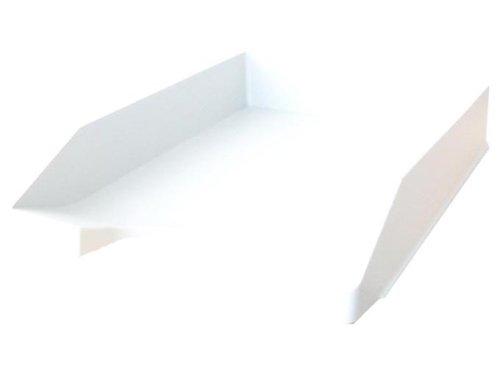 Leitz Plus Standard Briefkorb, A4, Weiß, 52270001