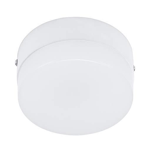 Lámpara de techo LED, luz de noche con sensor de movimiento, luz de caza interior para el cuarto de baño del porche de garaje, escalera de pasillo (10 W Cool White)