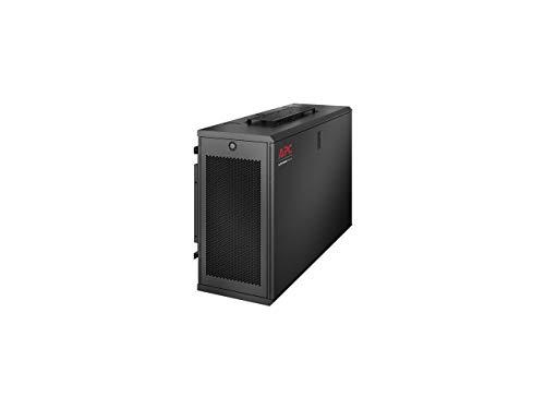 APC NetShelter 6U Low-Profile Vertical Wallmount Rack Enclosure...