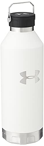 Under Armour Peak 40 Ounce Water Bottle, White