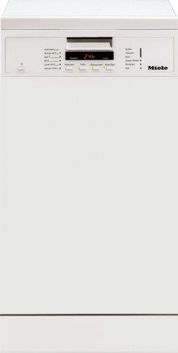 Miele G 4600 SC Freistehender Geschirrspüler / A A / 9 Maßgedecke / 45 db / Brillantweiß / Praktische und platzsparende Besteckschublade / 44.8 cm