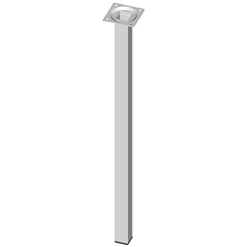 Element System 11101-00045 Pie para muebles, blanco, 50 cm