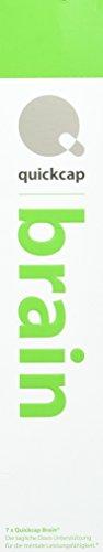 Quickcap Brain für mehr Konzentration und Leistungssteigerung| wissenschaftlich formuliertes Nahrungsergänzungsmittel | Guarana, Rhodiola Rosea, Koffein, Grüner Tee, Mate Tee, Vitamin B Komplex.