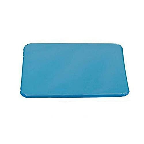 Almohada fría de hielo de gel fresco hi-entic no tóxico ayuda almohadilla de alivio muscular colchoneta de viaje almohadas cuello agua azul