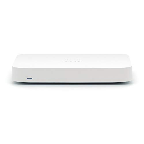 MERAKI GO 5 Port Security Gateway | Cloud Managed Firewall & Router | Cisco [GX20-HW-US]