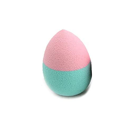 Maquillage coloré éponge Blender Lisse en forme de gouttelettes d'eau Puff (couleur aléatoire) Fournitures de maquillage