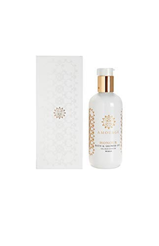 AMOUAGE Honour Shower Gel Woman 300ml + 3 Amouage Perfume Sampler Vials - Free