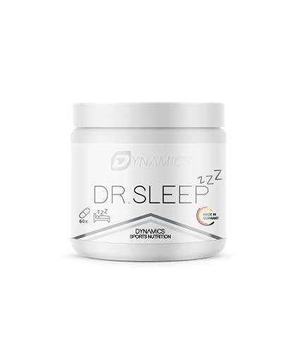 Besser schlafen natürlich einschlafen dank Melatonin | Dynamics - Dr. Sleep | Endlich wieder Durchschlafen | verbesserte Tiefschlafphase sowie Regeneration | Einschlafhilfe Erwachsene mit Tryptophan