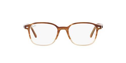 Ray-Ban 0RX5393 Gafas, GRADIENT LIGHT BROWN HAVANA, 47 Unisex Adulto
