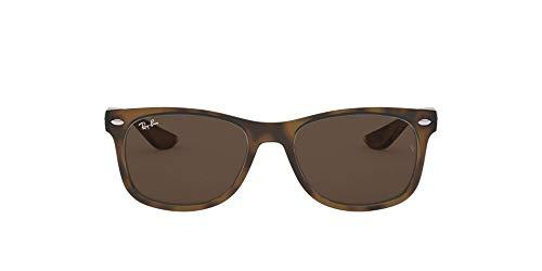 Ray-Ban Rj9052S Gafas de sol, Rectangulares Unisex niños Unisex niños, marrón