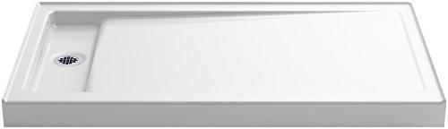 KOHLER K-9193-0 Bellwether Shower Base, 4.50 x 34.00 x 60.00 inches, White