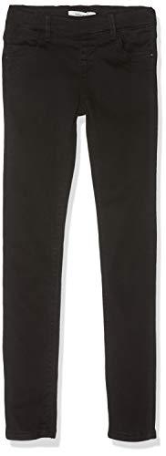 NAME IT Mädchen NKFPOLLY DNMTORA 7236 NOOS Leggings, Schwarz (Black Denim Black Denim), (Herstellergröße: 122)