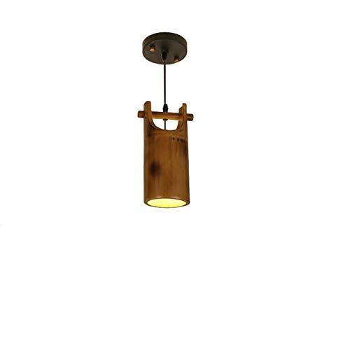 SHENLIJUAN Creativa de bambú de la lámpara de la Personalidad Restaurante Bar lámpara de Mesa de café Corredor Patio Decorativo