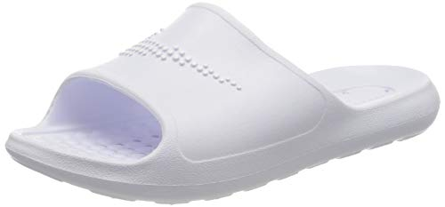 Nike W VICTORI One SHWER Slide, Scarpe da Ginnastica Donna, White/White-White, 38 EU