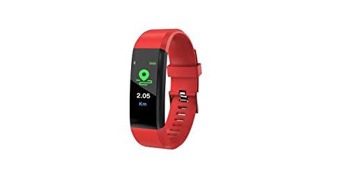 SmartFitTM - Braccialetto Fitness con Bluetooth, cardiofrequenzimetro, contapassi, Calorie, promemoria sedentarietà, Compatibile con sistemi Android e iOS