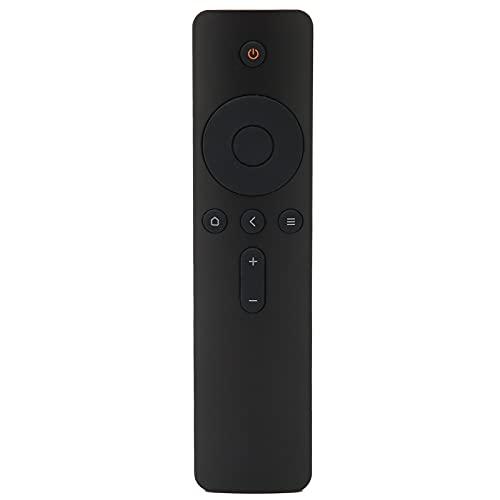 Annadue Control Remoto de TV, reemplazo de Control Remoto para TV Inteligente, Control Remoto Negro para televisores Inteligentes, Distancia de Control Remoto de 10 m