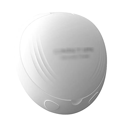 QERNTPEY Contact Lens Cleaner Ultrasonic Contact Lens Cleaner Cosmetic Lens Cleaner Contact Lens Case Occupies Less Space (Color : White, Size : 8.8x8.6x4.4cm)