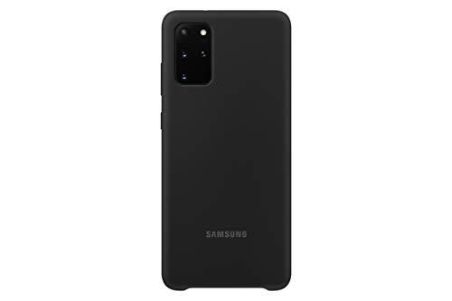 Samsung Silicone Smartphone Cover EF-PG985 für Galaxy S20+ | S20+ 5G Handy-Hülle, Silikon, Schutz Hülle, stoßfest, dünn & griffig, schwarz