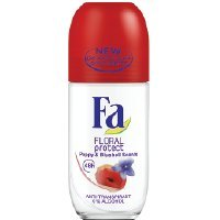 Fa Roll-on 50 ml Floral Protect Poppy&Bluebell (glass)