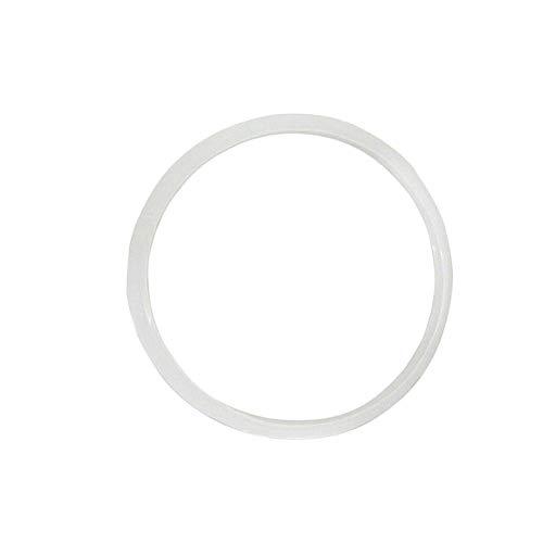 Dichtungsring für Schnellkochtopf, Ersatzteil, großer Universal-Silikonring, kompatibel mit Schnellkochtöpfen, transparent, Durchmesser 22 cm, 24 cm, 26 cm, 32 cm 22 cm durchsichtig