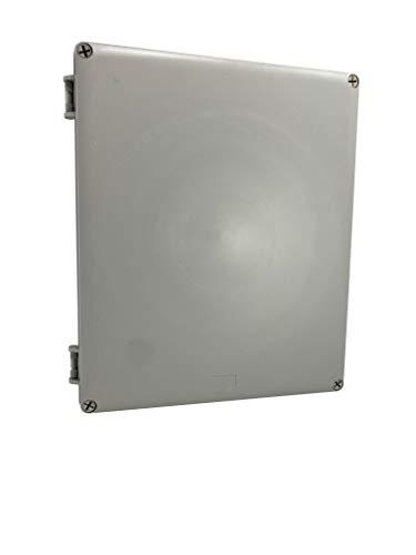 "DJC Supply Co. 12""x10""x4"" Weather & Dust Proof PS Plastic Junction Conduit Box, Electronics enclosure 1 PACK"
