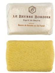 ボルディエ 手ごねバター 燻製塩 125gx10個セット【冷蔵】