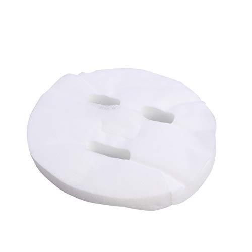 100 stücke Einweg Gesichtsmaske Reiner Baumwolle Papier Gesichtsmaske Blatt ultradünne DIY Kosmetik Gesichtspflege Maske