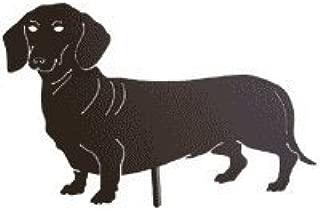 Dachshund Dog Garden Stake, Pet Memorial, Metal Yard Art