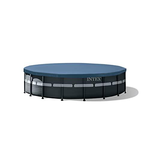 Intex 26329EH 18ft x 52in Ultra XTR Frame Pool Set, Dark Grey