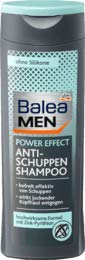 Balea MEN Shampoo Anti-Schuppen power effect, 1 x 250 ml