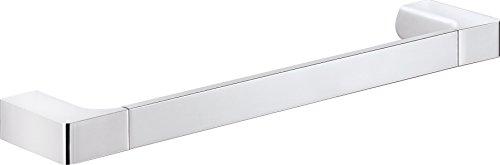 Gedy PI213513100 Toallero de Barra, Cromo, 6.6x35x2.5 cm