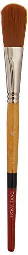 Princeton Snap! 9650OV-075 SNAP Brush Gold TAKLON Oval WASH 34